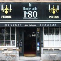 LA BONNE TABLE DU 180