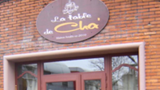 LA TABLE DE CHA